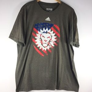Adidas Orlando City Soccer USA XL Tshirt Go-To Tee